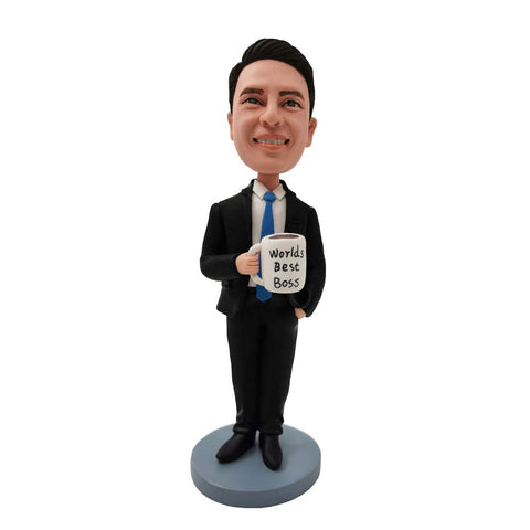 World's Best Boss Custom Bobblehead