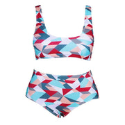 Seven Mile Sports Swimwear High-waisted bikini Trekeffect