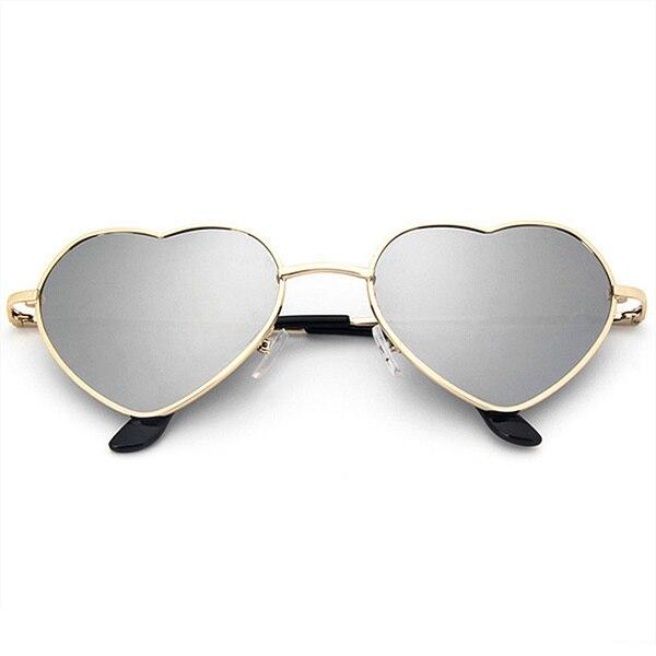 Lucent Heart Sunglasses Sunglasses Trekeffect Silver
