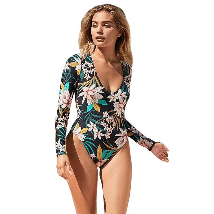 Dauphin Floral One Piece One Piece Trekeffect Multi Color M