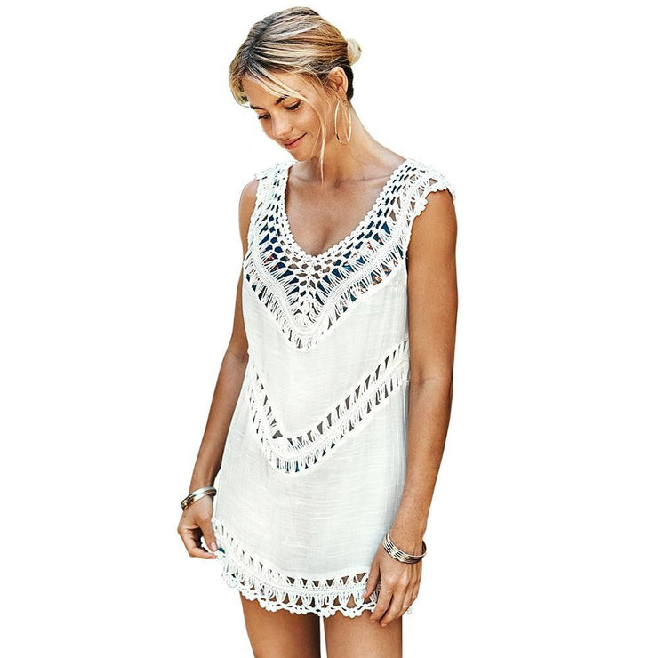 Valugan V Neck Cover Up