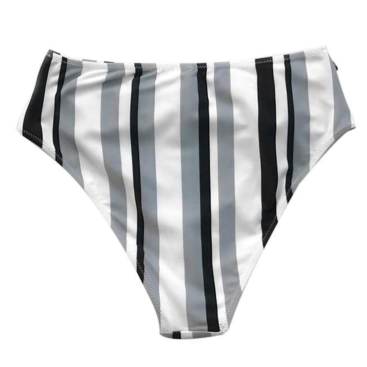 Gibney Striped Bikini Bottom