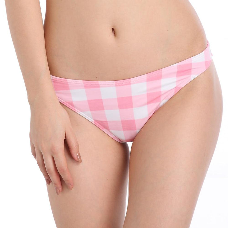 French Plaid Bikini Bottom Mix & Match Trekeffect