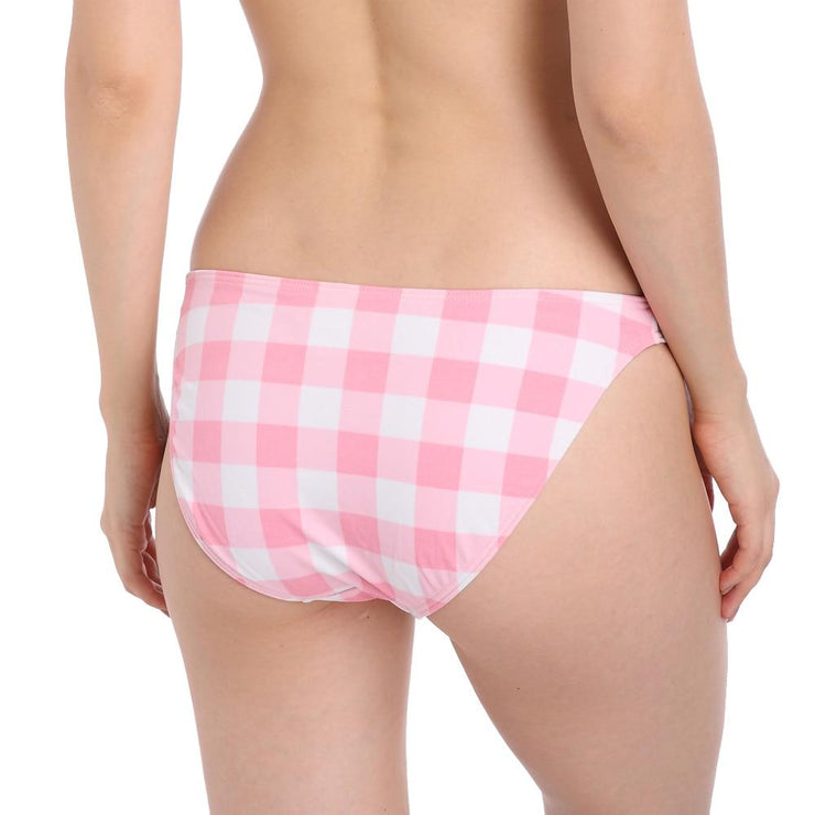 French Plaid Bikini Bottom