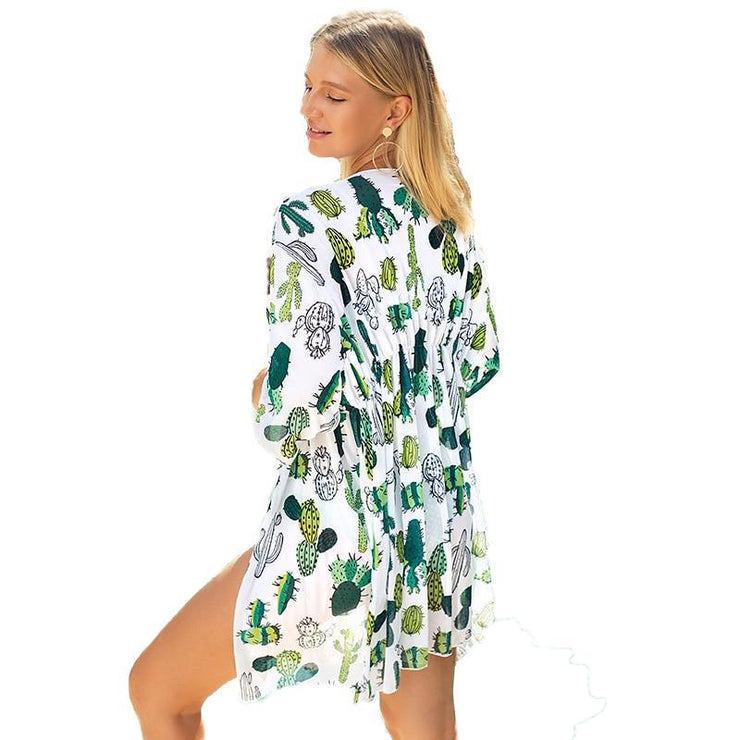 Giwan Chiffon Cover Up Cover-ups Trekeffect