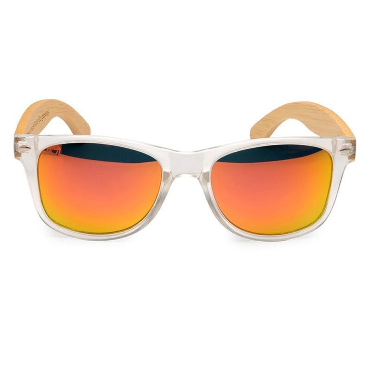 Luminous Polarize Square Sunglasses Yellow Trekeffect