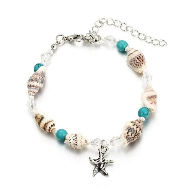 Alpha Star Beach Anklet Beach Jewelry Trekeffect Multi Color