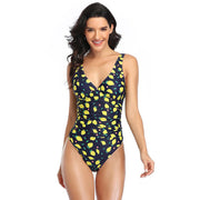 Provincetown Ruched One Piece Trekeffect Multi Color L