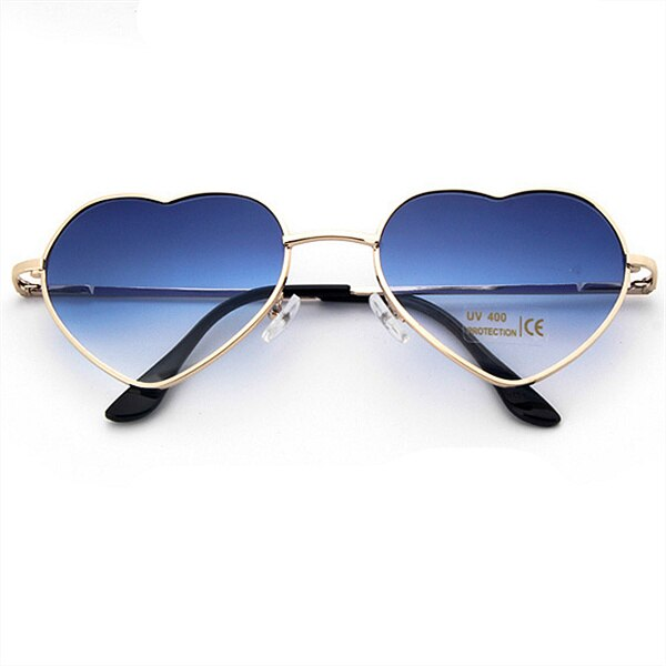 Lucent Heart Sunglasses Blue Trekeffect