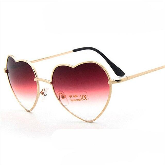 Lucent Heart Sunglasses Red Trekeffect