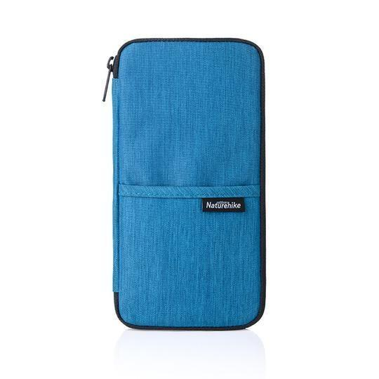 Passport Card Wallet Travel Organizer Wallet Passport ID Card Holder Ticket Credit Card Bag Case Trekeffect Blue