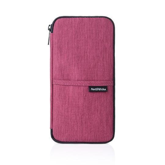 Passport Card Wallet Travel Organizer Wallet Passport ID Card Holder Ticket Credit Card Bag Case Trekeffect Pink