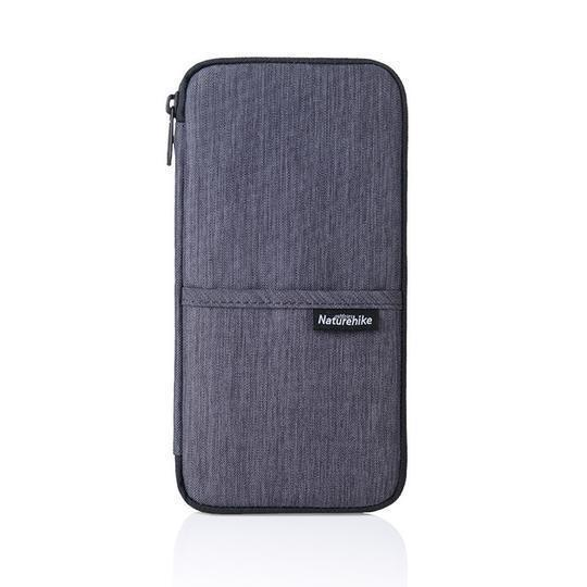 Passport Card Wallet Travel Organizer Wallet Passport ID Card Holder Ticket Credit Card Bag Case Trekeffect Gray