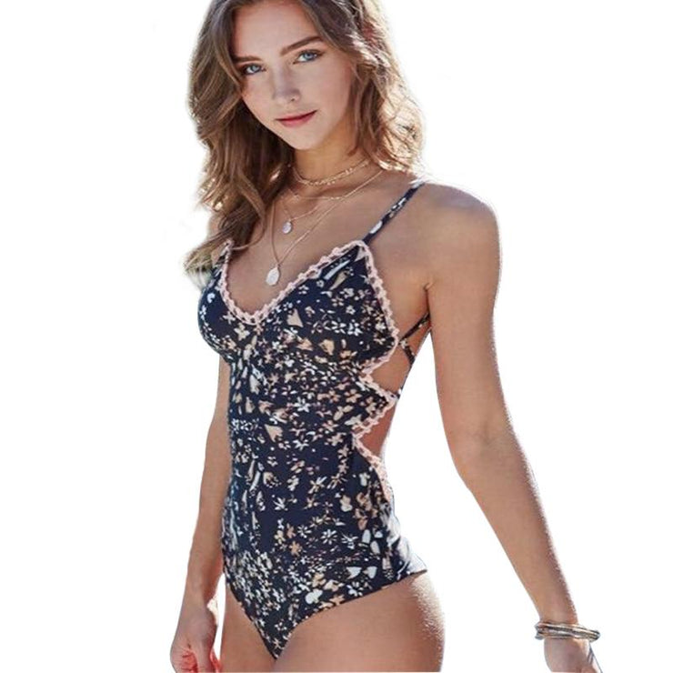 Lauderdale Push Up One Piece One Piece Trekeffect