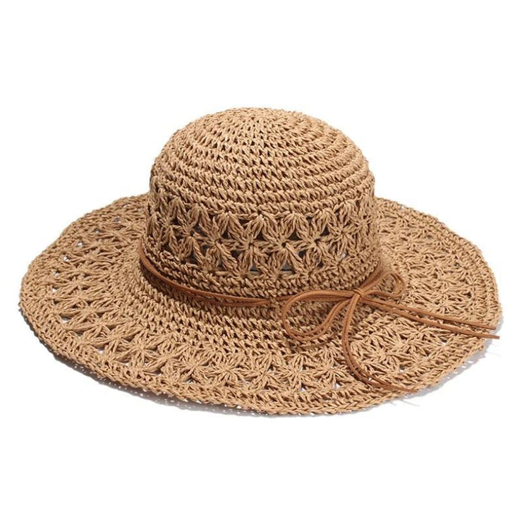 Vallarta Crochet Straw Hat Hats Trekeffect