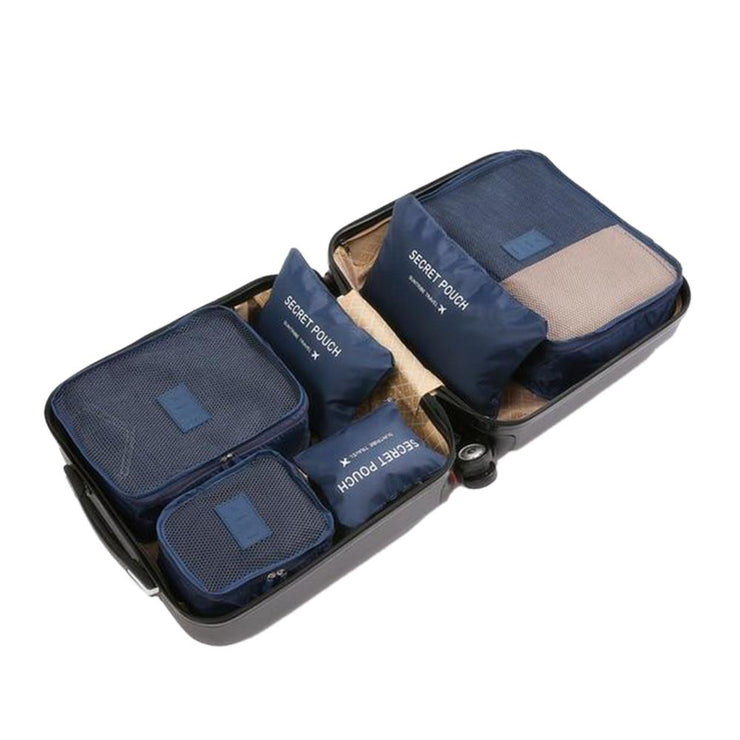 Travel Packing Cube Organizer Travel accessories Trekeffect Blue