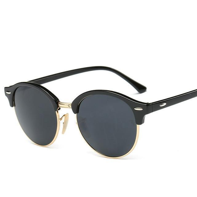 Gleam Retro Sunglasses Sunglasses Trekeffect Black