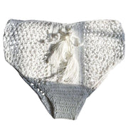 Anahulu Crochet Bikini Bottom Mix & Match Trekeffect White S