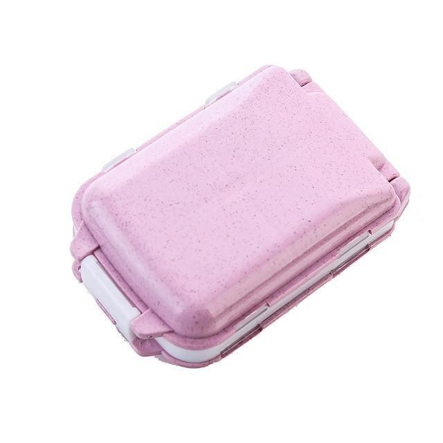 Medicine Organizer Travel accessories Trekeffect Pink