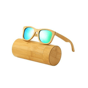 Beam Polarized Wooden Sunglasses Sunglasses Trekeffect Green