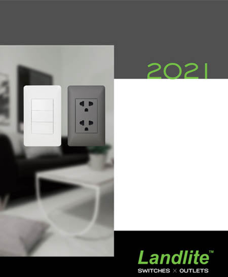 LANDLITE Switches Brochure 2021 with price
