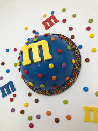 Cool Giant Mm Red Blue Yellow 1Kg Filling Smash A Cake Brisbane Funny Birthday Cards Online Bapapcheapnameinfo