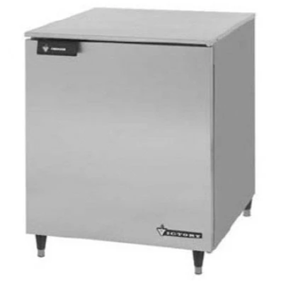 Victory UF-27-SST Single Door Undercounter Freezer