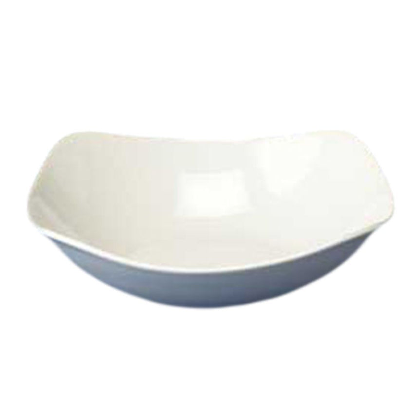 "Churchill White X Squared Bowl 8"" - 12/Case"