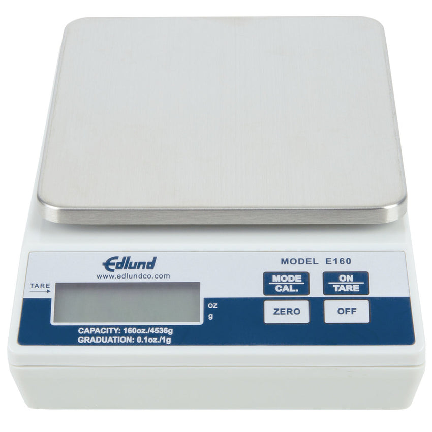"Edlund E-160 10 lb. Digital Scale with 5 7/8"" x 6 3/4"" Platform"