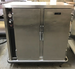 FWE PS-1220-20 1/2 Height Insulated Mobile Heated Cabinet w/ (20) Pan Capacity, 120v