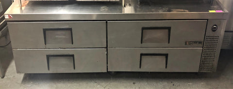 "True TRCB-96 96"" Chef Base w/ (4) Drawers - 115v"