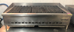 "Garland 48"" Natural Gas Radiant Charbroiler - 8 Burners"