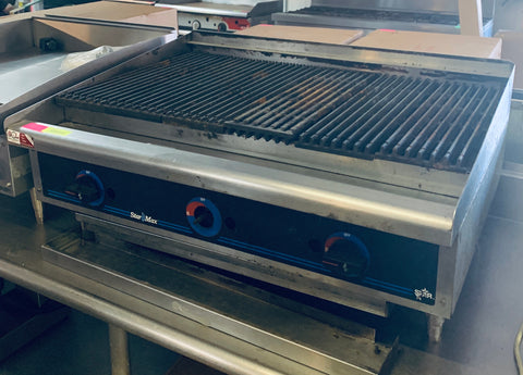 "StarMax 36"" Radiant Charbroiler"
