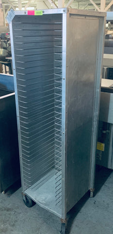 Alluminum Tray Rack W/ Casters