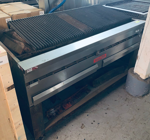 "Vulcan 72"" Gas Heady Duty Charbroiler W/ Stand"