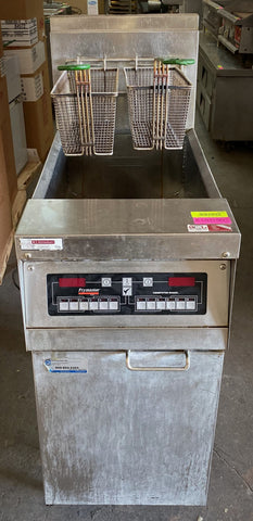Frymaster MJH50CSC Natural Gas High Efficiency Fryer 50 lb. - 80,000 BTU