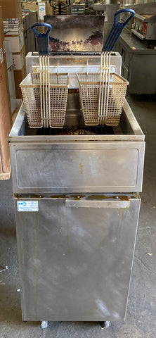 Frymaster GF14SD 40 lb. Natural Gas Fryer