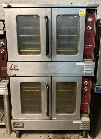 Southbend SLES/20SC SilverStar Double Full Size Electric Convection Oven - 12kW, 240v/3ph
