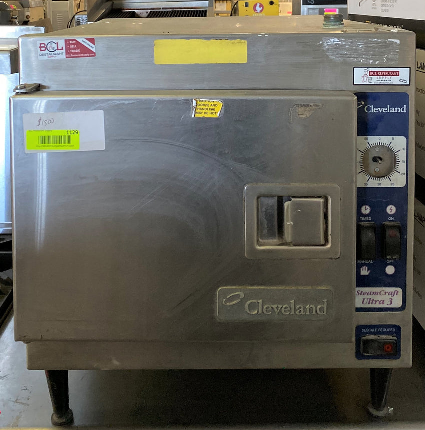 Cleveland 21CET8 (3) Pan Convection Steamer - Countertop, 240v/1ph