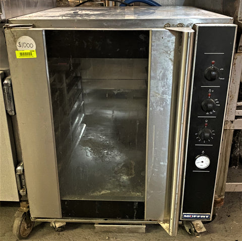 Moffat P8M Turbofan Half Height Insulated Mobile Heated Cabinet w/ (8) Pan Capacity, 110-120v