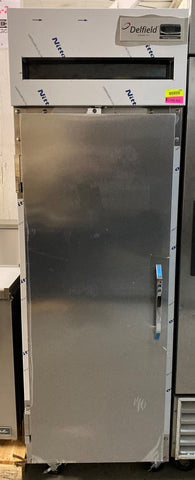 "Delfield 6025XL-S 25.5"" Single Section Reach-In Refrigerator, (1) Solid Door, 115v"