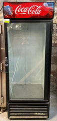 "True GDM-26 30"" One Section Glass Door Merchandiser - 115v"