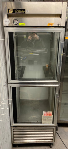 "True T-23G-2 27"" One Section Reach In Refrigerator - 115v"