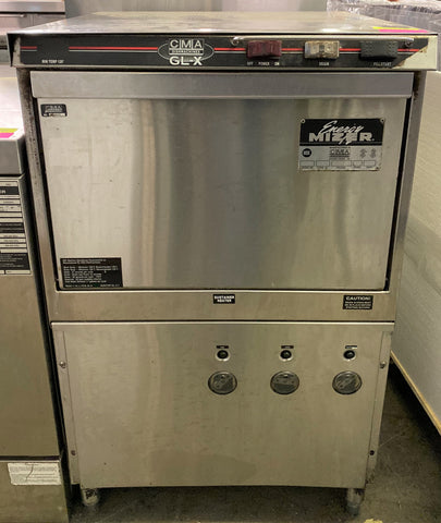 CMA Dishmachines GL-X Low Temp Rack Undercounter Glass Washer - (30) Racks/hr, 115v