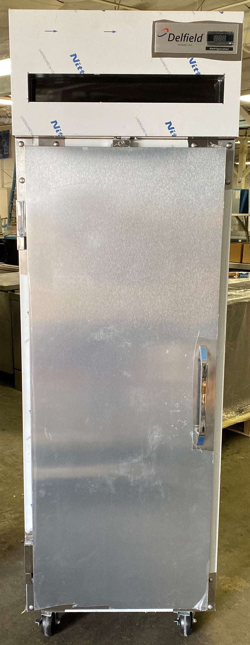 "Delfield 6025XL-S 25.5"" Single Section Reach-In Refrigerator, 115v"