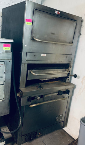Southbend Gas Broiler W/ Oven