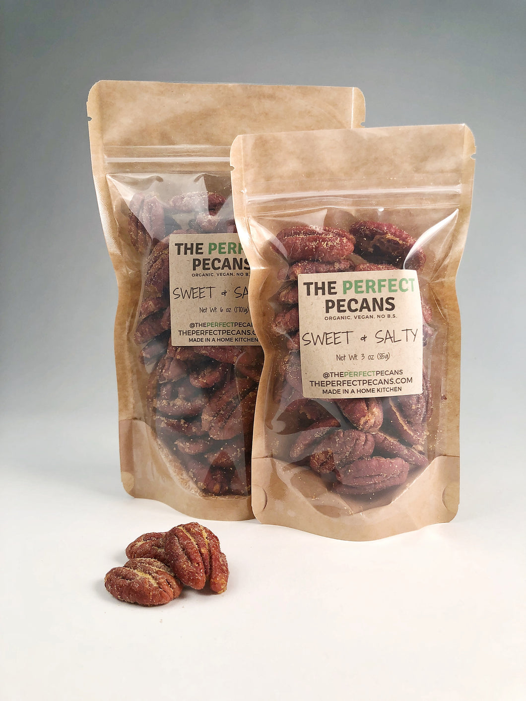 Sweet & Salty Perfect Pecans