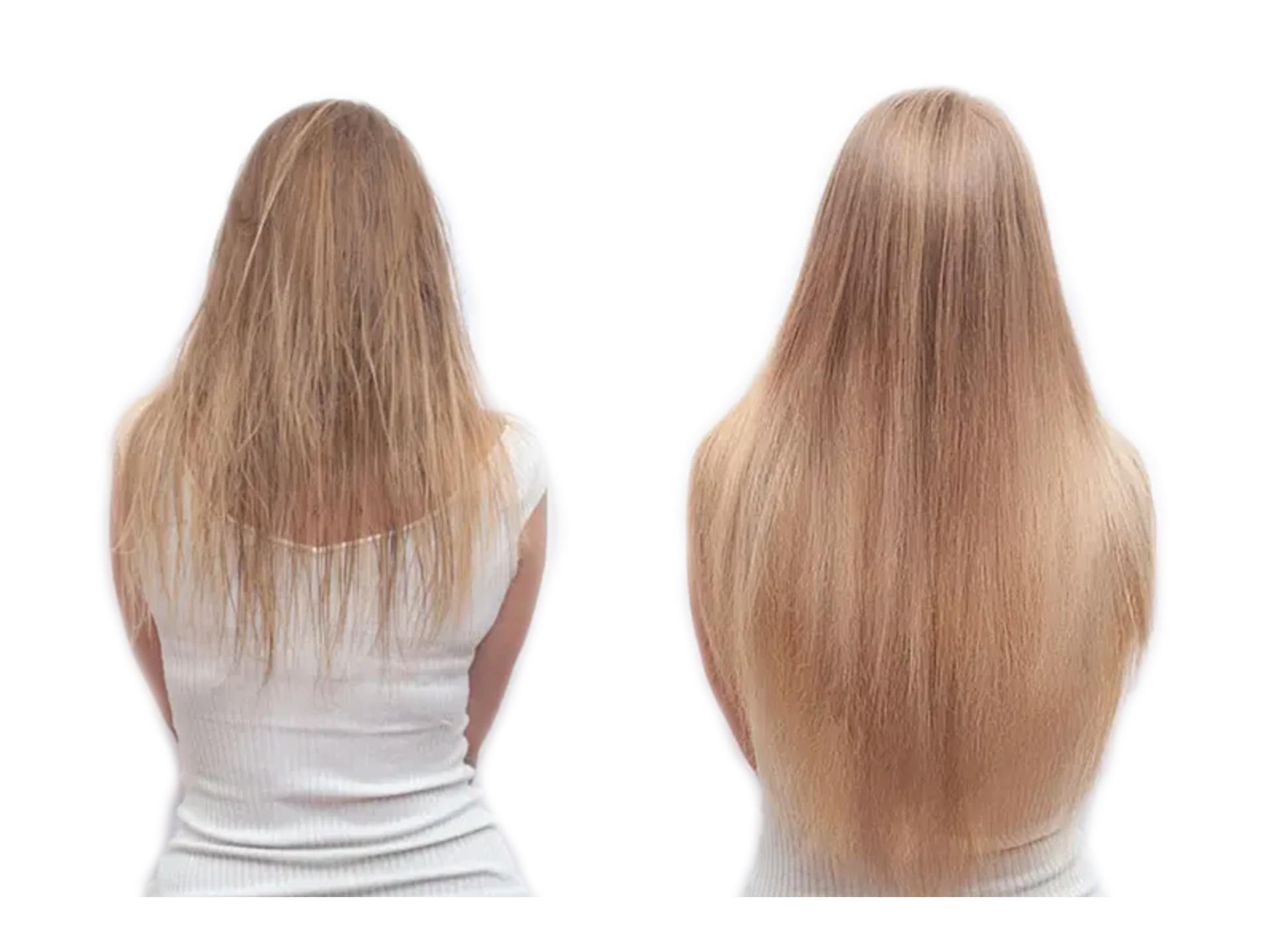 clip in hair extensions for thin hair before and after