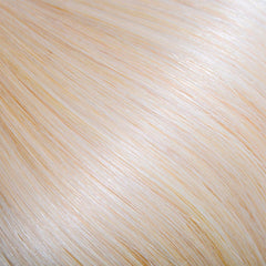 Platinum Blonde Tape In Remy Hair Extensions