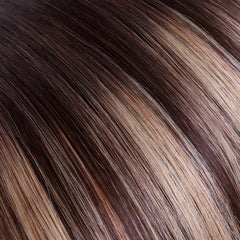 Balayage Chocolate Brown Tape In Remy Hair Extensions